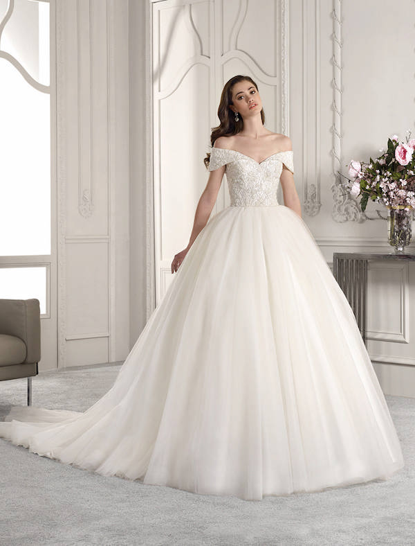 robe de mariée coupe princesse
