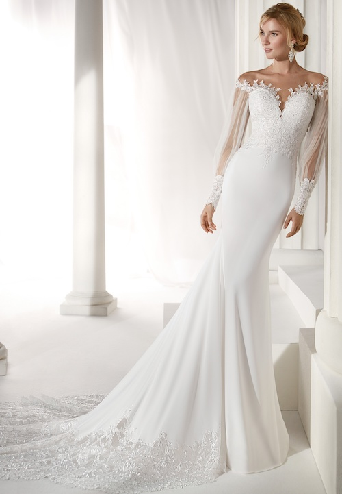 robe de mariée coupe sirène Nicole Spose 2019