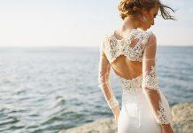 robe de mariée dos-nu tendance collection 2019