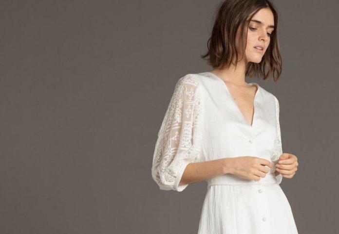 25 robes de mariée manches longues collection 2019