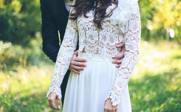 robe de mariée en dentelle, tendance 2019