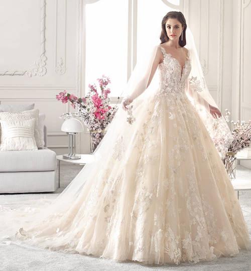 Sélection De Robes De Mariée Princesse En Dentelle 2019