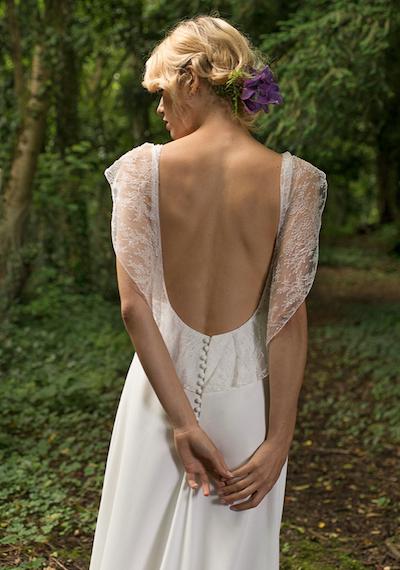 robe de mariée dos-nu Lambert Créations 2019