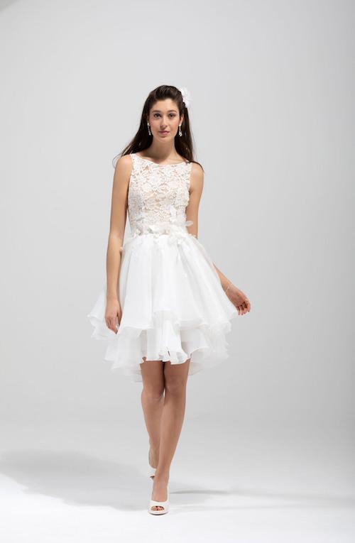 Collections 2020 Les Plus Belles Robes De Mariée Courtes