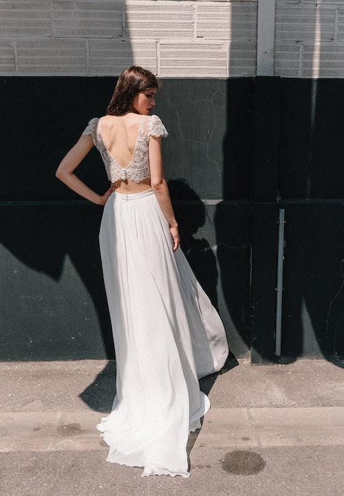 robe de mariée bohème chic dentelle mademoiselle de guise