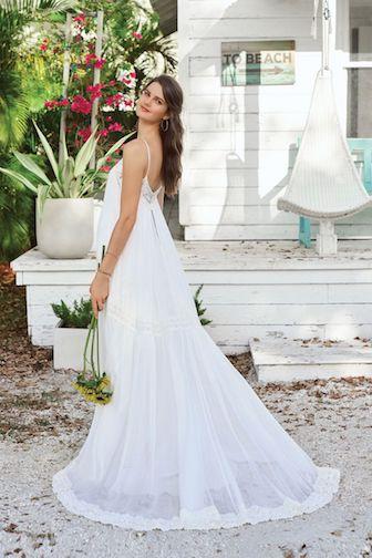 robe de mariée bohème Lillian west collection 2019
