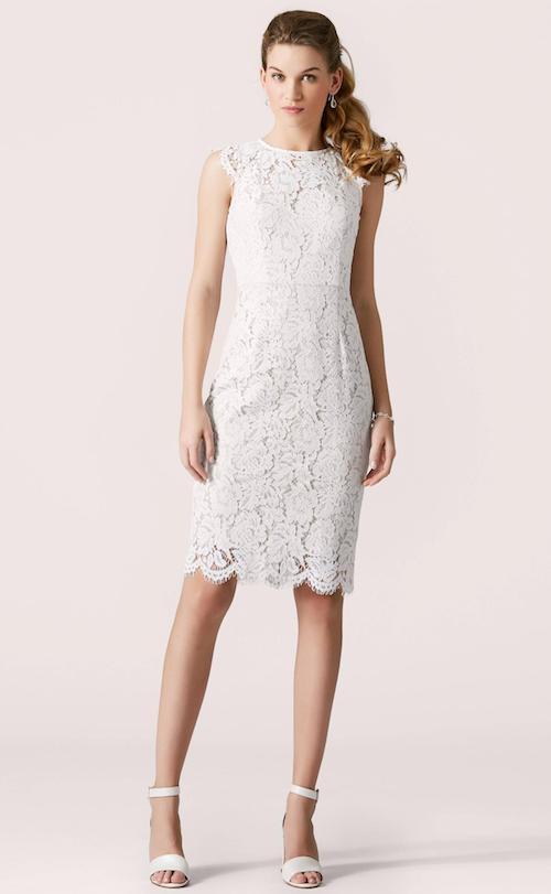 robe de mariée courte 2019 Lilly