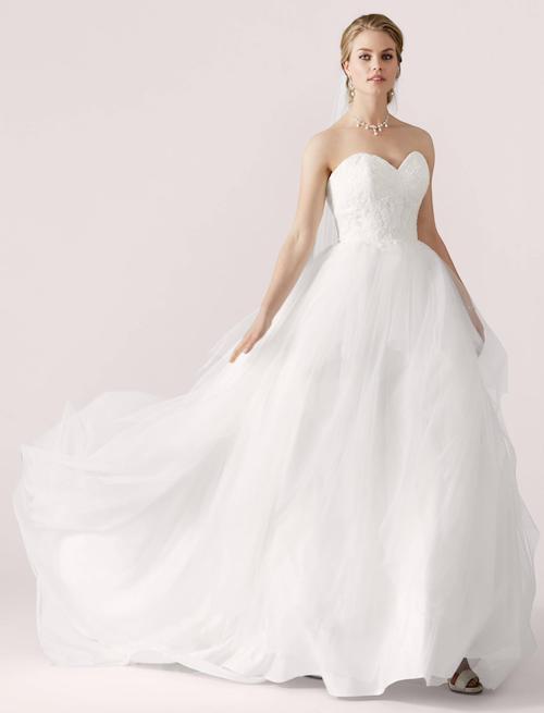 robe de mariée princesse avec bustier, Lilly 2019