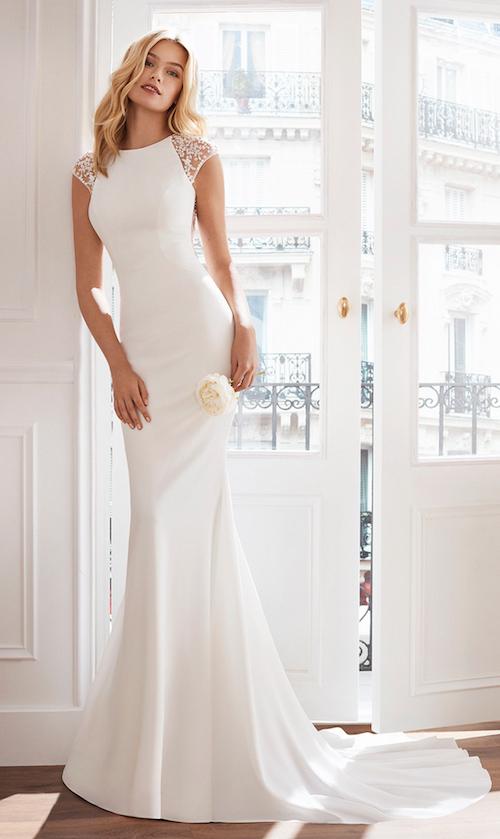 Robe de mariée sirène, Luna Novias collection 2019