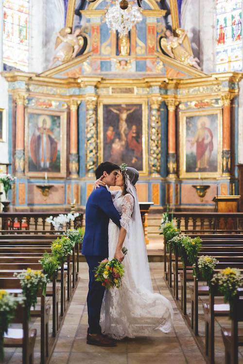 vrai mariage, union, amour, couple, jeunes mariés