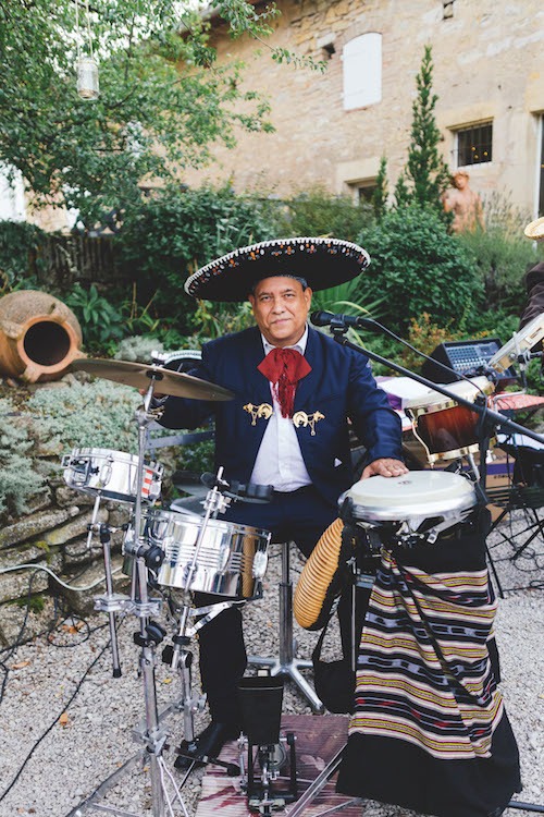 musicien mexicain, mariage, animation mariage