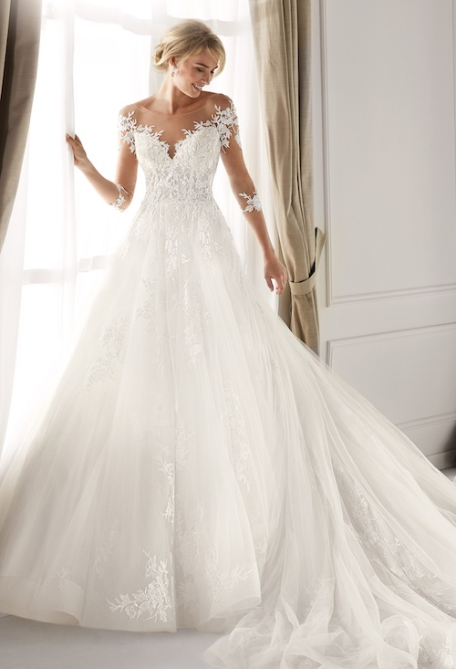 Sélection de robes de mariée princesse en