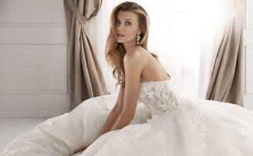 robe de mariée bustier 2020