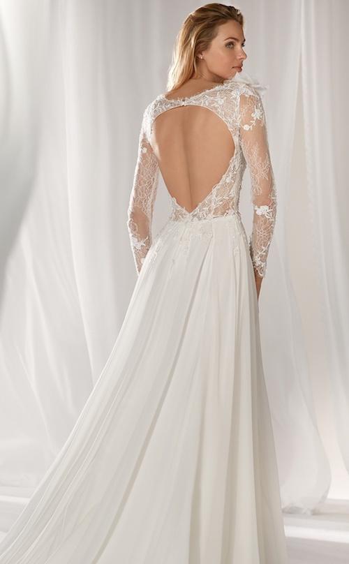 Nicole Spose collection 2019, robe de mariée dos-nu