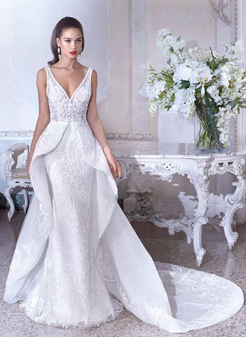 robe de mariée originale, platinum by demetrios 2019