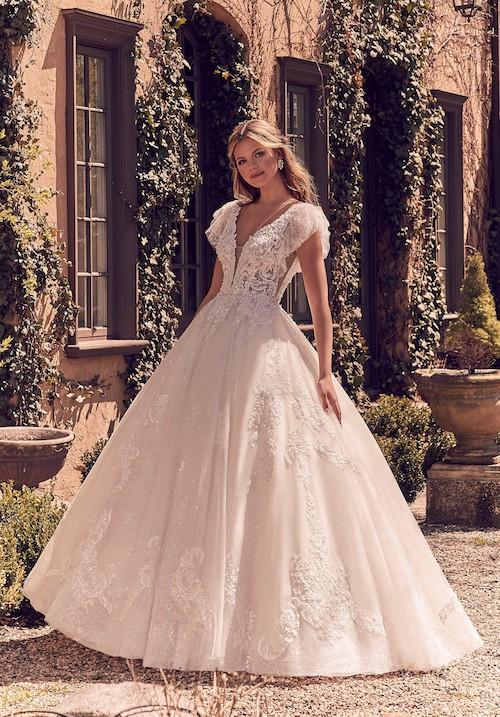 Collections 2020  les plus belles robes de mariée princesse