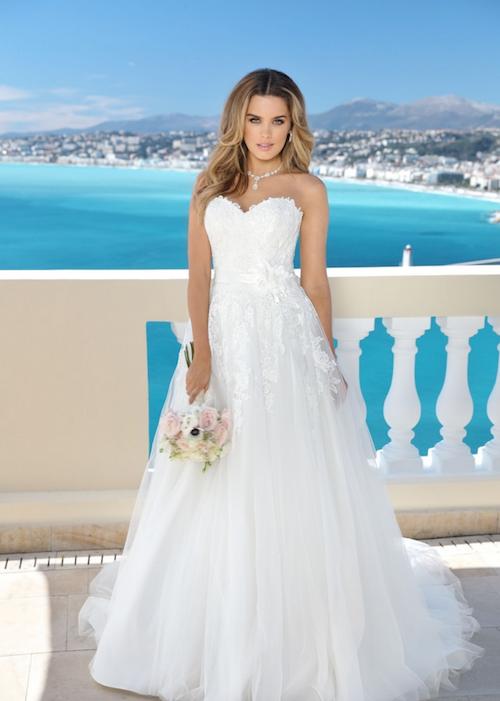robe de mariée avec bustier, ladybird 2019