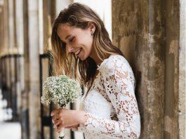 robe de mariée en dentelle pas cher