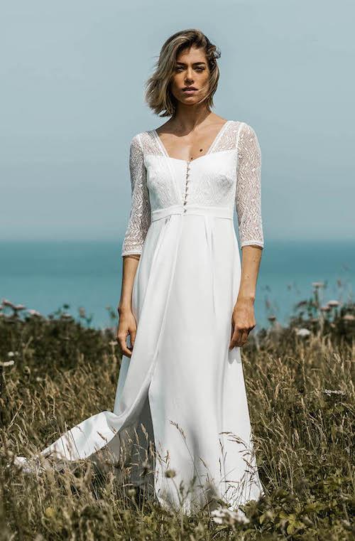 robe de mariée romantique Lorafolk 2019