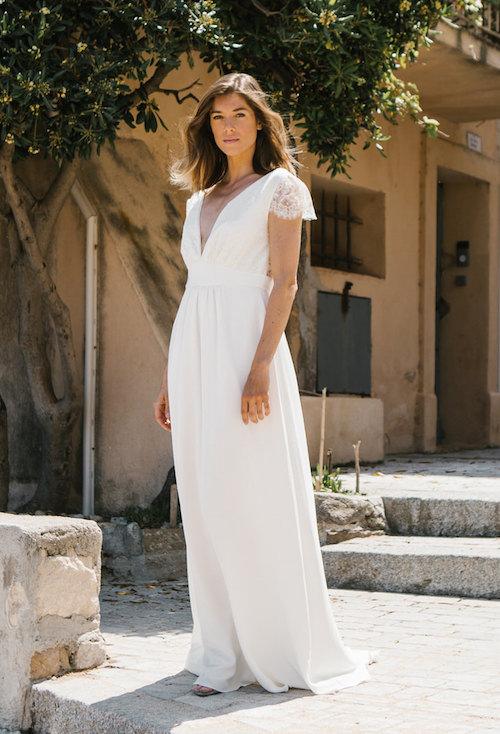 robe de mariée empire morphologie