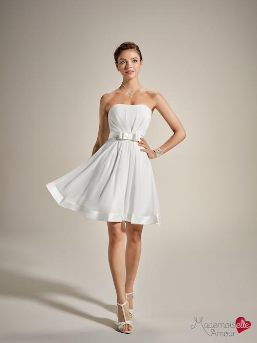 robe de mariée courte 2020