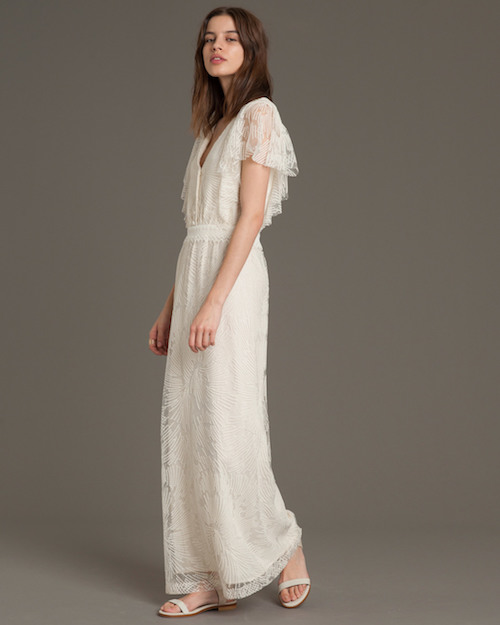 robe de mariée dentelle style bohème sessun oui