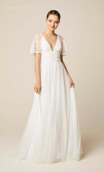 robe de mariée bohème jésus peiro collection 2019