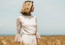 robe de mariée vintage 2019, collection 2019 Lorafolk