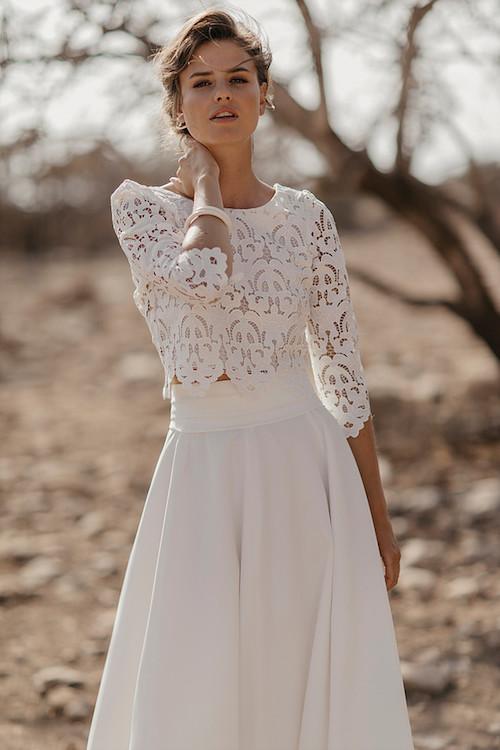 robe de mariée romantique