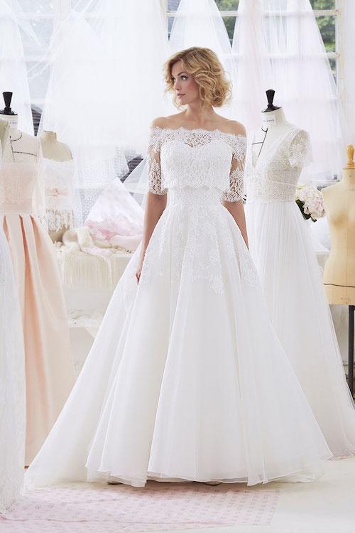 robe de mariée deux pièces 2019 Marie Laporte