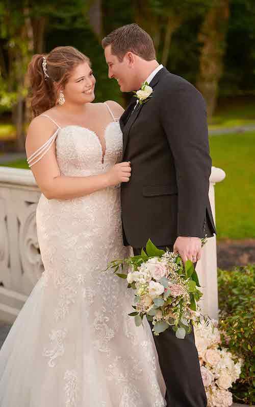 robe de mariée grande taille Stella York