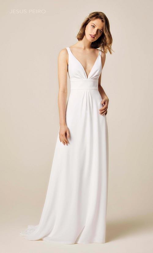 robe de mariée simple et élégante Jesus Peiro
