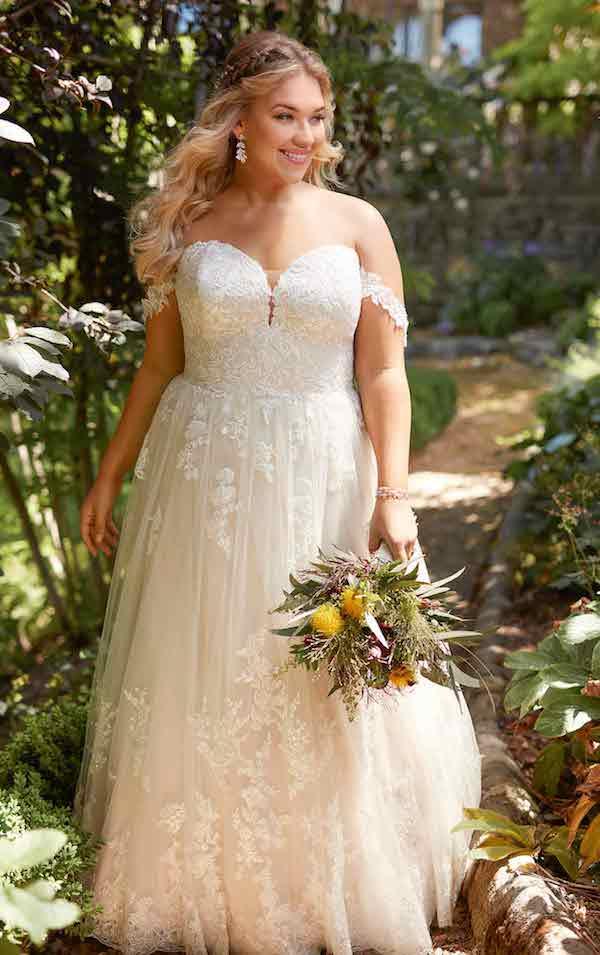 robe de mariée grande taille Essense of Australia