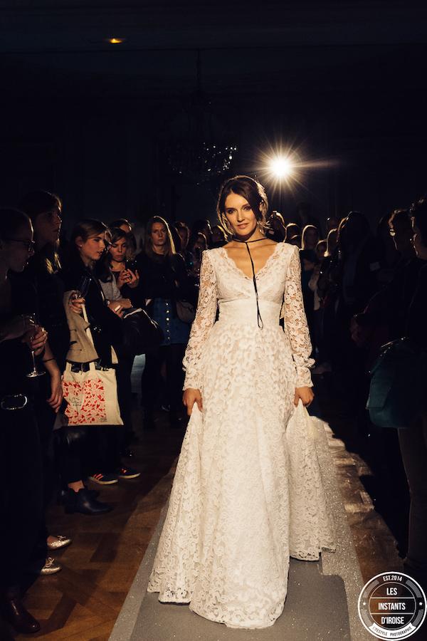 Les coulisses du mariage 2018, défilé mode créateurs mariage