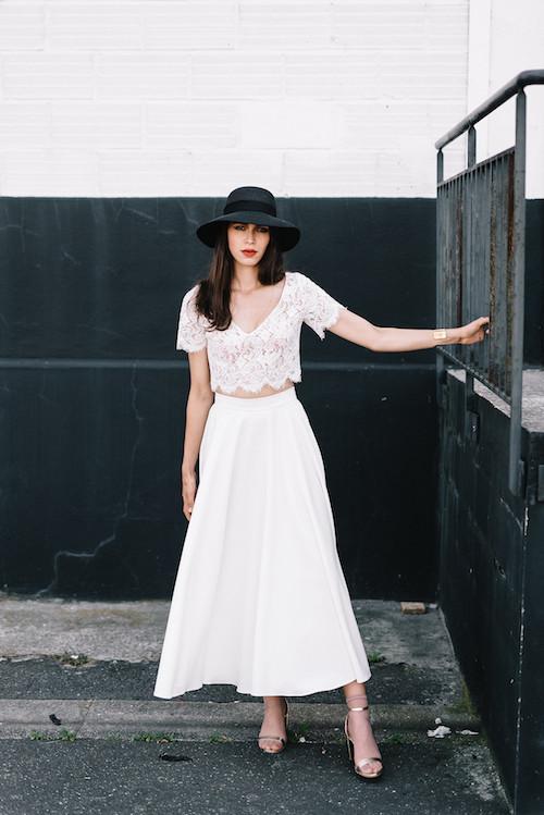 robe de mariée deux pièces 2019 Mademoiselle de Guise