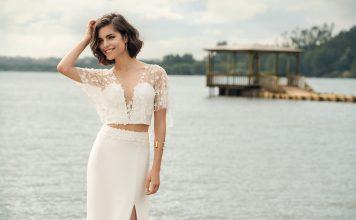 robes de mariée deux pièces 2019