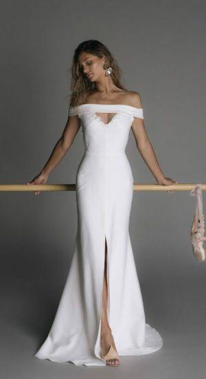 robe de mariée fendue rime arodaky 2019