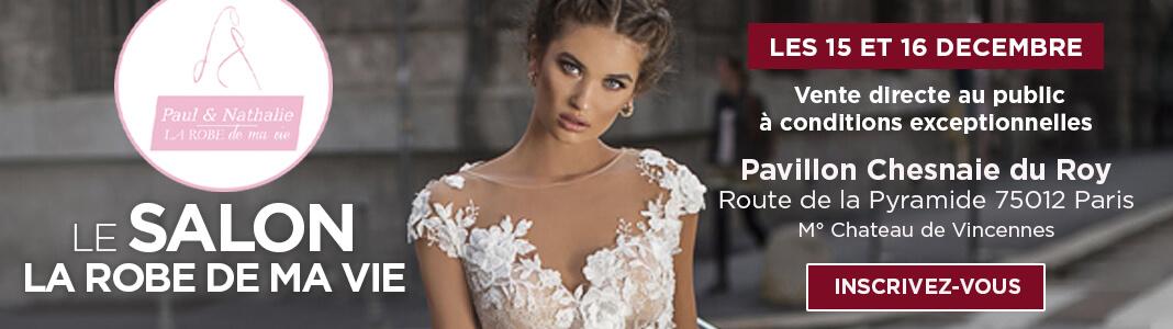 vente directe exceptionnelle La robe de ma vie, Déclaration Mariage