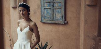 robe de mariée simple et élégante Laure de Sagazan