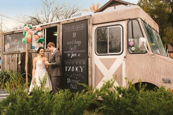 budget food truck mariage