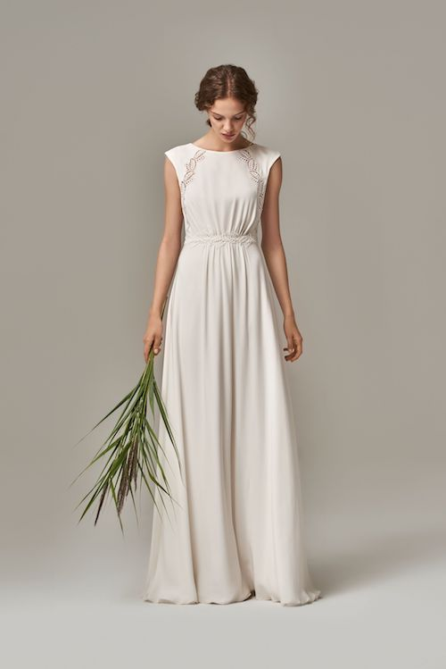 robe de mariée simple et élégante Anna Kara