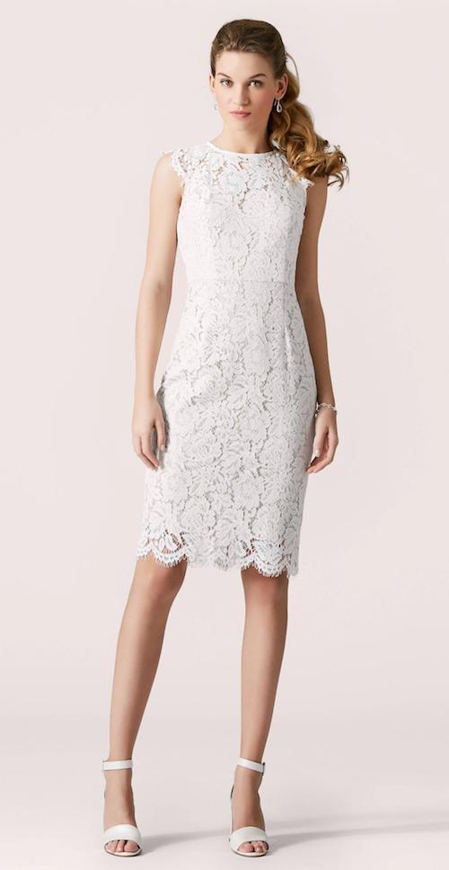 modèle unique choisir l'original clair et distinctif Mariage civil 2020 : les plus jolies robes de mariée courtes ...