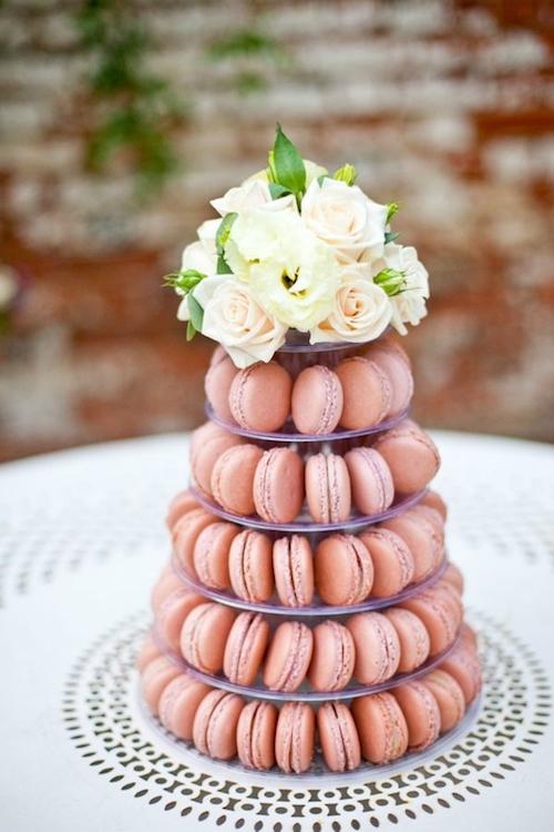 pièce montée macarons mariage