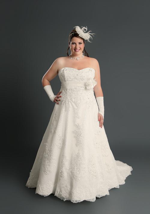 robe de mariée grande taille Les mariées de Talia