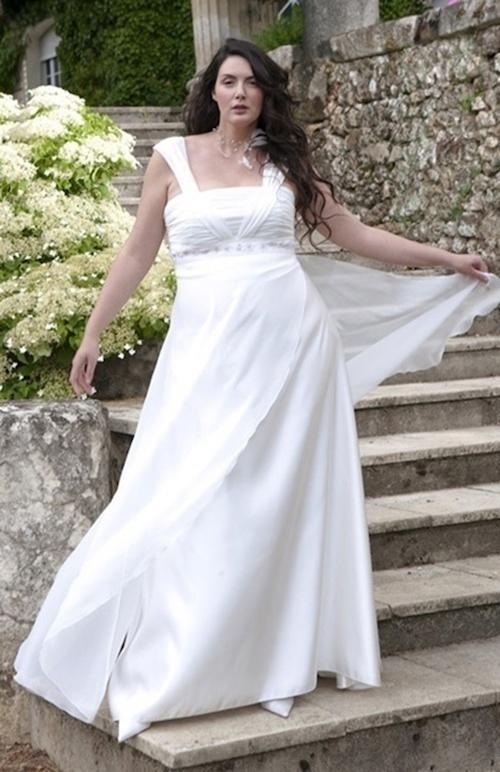 robe de mariée grande taille Lambert créations