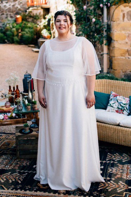 robe de mariée grande taille Kaa Couture