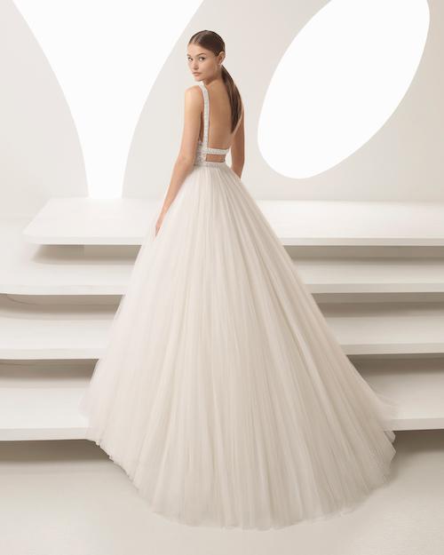 robe de mariée style ballerine, collections 2019