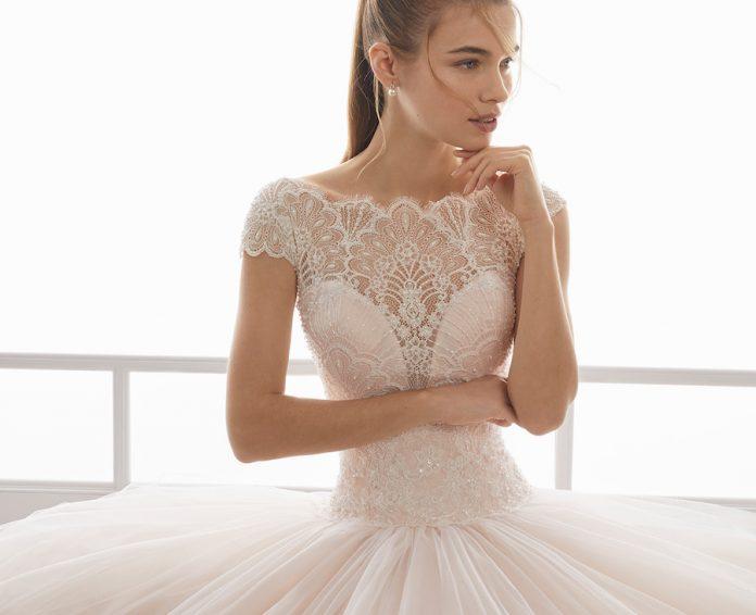robe de mariée esprit ballerine 2019