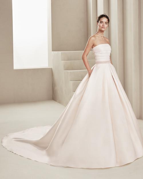 robe de mariée princesse volumineuse, collections 2019