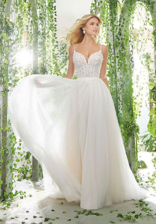 robe de mariée style ballerine 2019